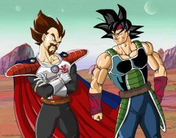 Dragon ball Fathers by albertocubatas