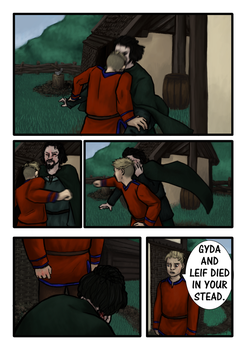 Vikings fan comic page four by Miagola