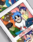 Gorillaz in teh Photo Booth by Scribbles02