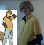 Hige Cosplay - Wolfs Rain by hetalia-fangirly