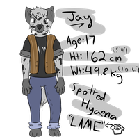 Jay Reference II by Jay-Hyena