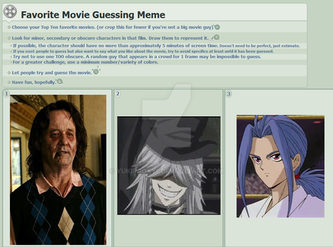 Movie Guessing Meme by YukiProxy1