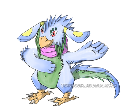 bird monster by transawex