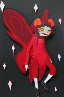 God Tier Aradia Papercraft by koreandrawer