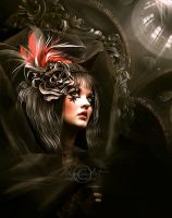 Gothic Beauty by AngeliaArt