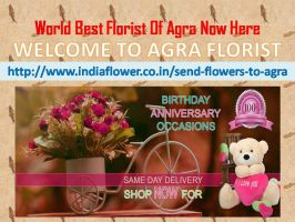 Agra Online Florist Is Best For All Events by OnlineFloristAgra