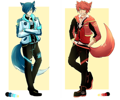 Quicksale! Adoptable Auction 9 and 10 [Closed!] by Zehrine