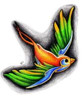 Sparrow colored by iluv2rock99