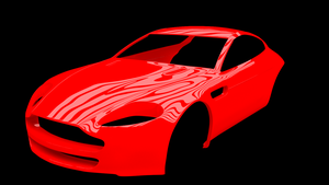 Aston Martin Vantage V8 ( work in progress ) by SARGY001