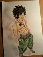 Fairy Tail-Gray Fullbuster by YataMi-sa-ki