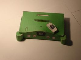 Nintendo 64 papercraft picture by norgas