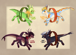 [OPEN] Ore Children Batch 2 [price lowered] by Dracobby