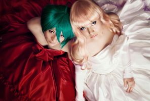 Sheryl Nome and Ranka Lee by Tori-Tolkacheva