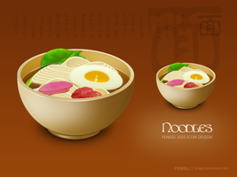 Noodles Icon by fengsj