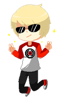 Dave strider by astr0art