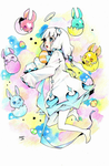 Gaiaonline: Artemis and the space bunnies by Fallheart