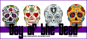 Day of the Dead PNG Pack by silklungs