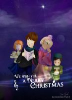 We wish you a Merry Christmas and a Happy new year by Darukii