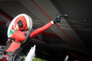 Lady Deadpool III by versidian