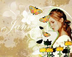 Jane 'The Butterfly' by ayom52