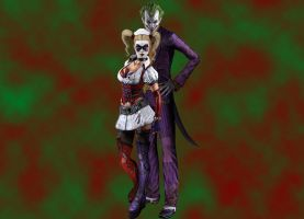 Joker and Harley by brcohen