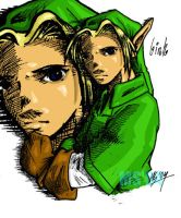 Hero of Time: Link by glorious-style