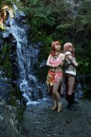 FFXIII: rushing rain by Mini-MiVi