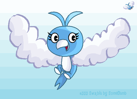 Swablu as a HTF by SomeDumbDeviant