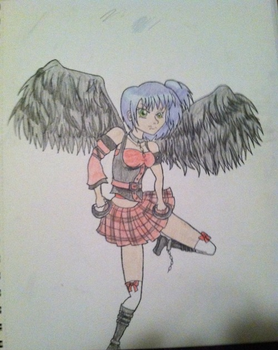 Gothic Angel by puddingXtart