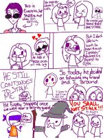 Stalkers, Stalkers everywhere by nebelgurlwitch
