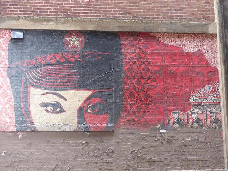 Shepard Fairey - Great Wall - Chicago by ShazeArt