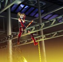 Harley Quinn - Bat ''Man'' by ghostfire