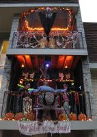 Halloween 2009 Patio Display 9 by EVysther