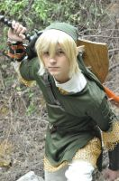 Link getting ready to attack by Anduriill