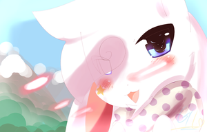 I hope senpai notices me by GalacticLunar