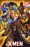 XMen 1 by Foreman by chris-foreman