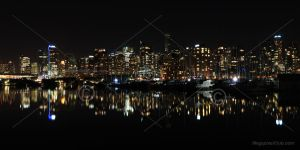 Vancouver at night II by megapixelclub