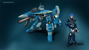 ROBOTECH: VFA-6A Max Type by LeElf