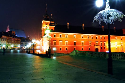 The Royal Castle in Warsaw by Cyrus88