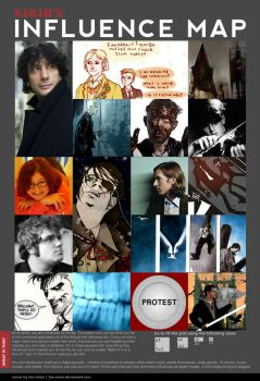 Influence Map by bowie-lover