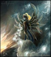 Goddess of heaven by Nikt2