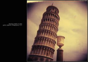 leaning tower in pisa by geniusindahouzz