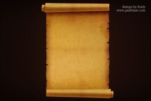 Old paper background by psdblast