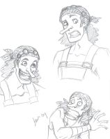 OP: Usopp sketches by persephohi
