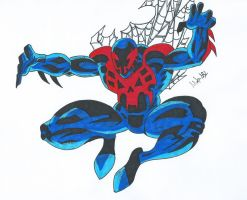 Spiderman 2099 by MikeES