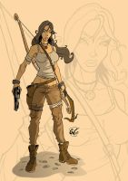 Tomb Raider by Guillevillegas