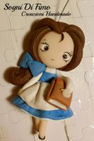 Beauty Belle Disney Fimo by SogniDiFimoCReazioni