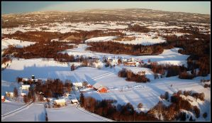 Norway.22: Rural winter by CrLT