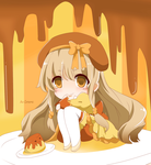 [OC] Flan :: Pocket-sized Dessert Personification by AuCrowne