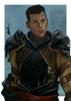 Cremisius 'Krem' Aclassi Dragon Age Inquisition by dreNerd